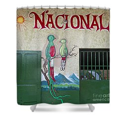 Quetzal Painting  Shower Curtain by Heiko Koehrer-Wagner