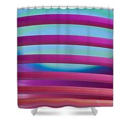 Rainbow 4 Shower Curtain by Steve Purnell