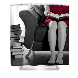 Reading Shower Curtain by Joana Kruse