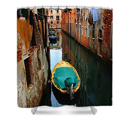 Reason To Return Shower Curtain by Bob Christopher