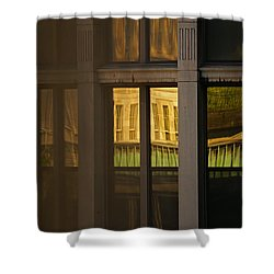 Reflected Shower Curtain by Aimelle