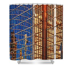 Reflections 2 Shower Curtain by Mauro Celotti
