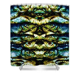 Reflections 2 Shower Curtain by Skip Nall