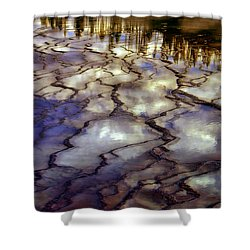 Reflections Shower Curtain by Ellen Heaverlo