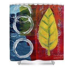 Remembrance Shower Curtain by Linda Woods