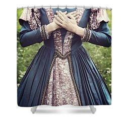 Renaissance Princess Shower Curtain by Joana Kruse