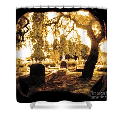 Repose Shower Curtain by Andrew Paranavitana