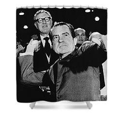 Richard Nixon (1913-1994) Shower Curtain by Granger