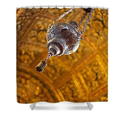 Richly Decorated Ceiling Shower Curtain by Gaspar Avila