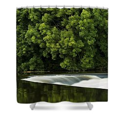 River Boyne, County Meath, Ireland Shower Curtain by Peter McCabe