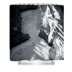 River Fall Part 2 Shower Curtain by Marcin and Dawid Witukiewicz
