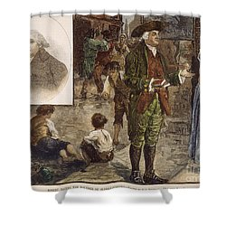Robert Raikes (1735-1811) Shower Curtain by Granger