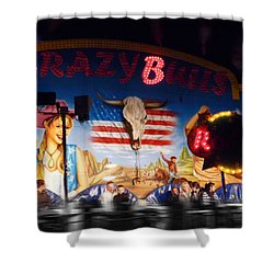 Rodeo Ride Shower Curtain by Charles Stuart