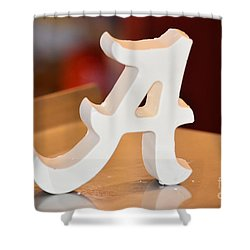 Roll Tide Shower Curtain by Maria Urso