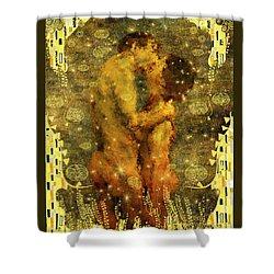 Romantic Dream Shower Curtain by Kurt Van Wagner
