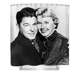 Ronald Reagan (1911-2004) Shower Curtain by Granger
