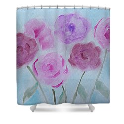 Roses Shower Curtain by Heidi Smith