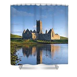 Rosserk Friary, Co Mayo, Ireland 15th Shower Curtain by Gareth McCormack