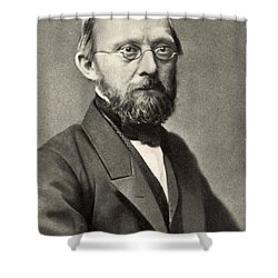 Rudolph Virchow, German Polymath Shower Curtain by Photo Researchers