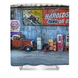 Rural America Shower Curtain by Bob Christopher