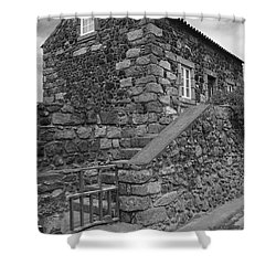 Rural Home Shower Curtain by Gaspar Avila