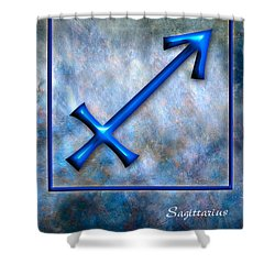 Sagittarius  Shower Curtain by Mauro Celotti