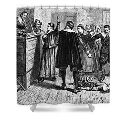 Salem Witch Trials, 1692-93 Shower Curtain by Photo Researchers