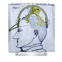 Saluting Device Shower Curtain by Science Source