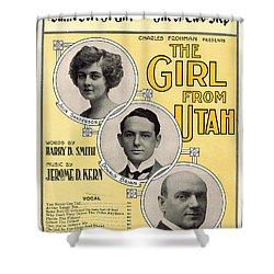 Same Sort Of Girl Shower Curtain by Mel Thompson