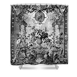 Savonnerie Panel C1800 Shower Curtain by Granger