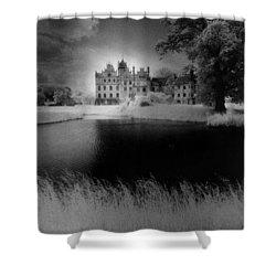Schloss Basedow Shower Curtain by Simon Marsden