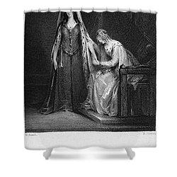 Scott: Ivanhoe, 1832 Shower Curtain by Granger
