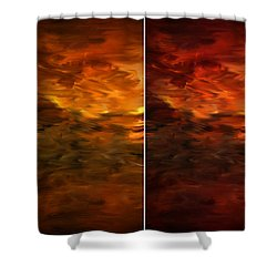Seasons Change Shower Curtain by Lourry Legarde