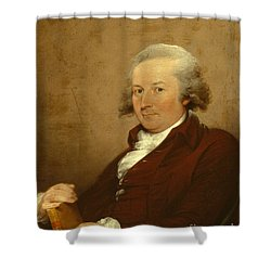 Self-portrait Shower Curtain by John Trumbull