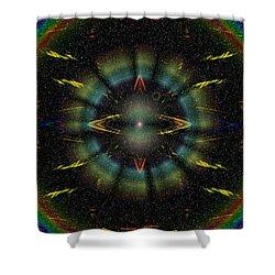 Separation Shower Curtain by Tim Allen