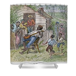 Sharecroppers, 1876 Shower Curtain by Granger