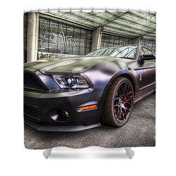 Shelby Gt500kr Shower Curtain by Yhun Suarez