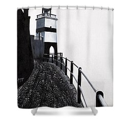 Silhouette 1 Shower Curtain by Mauro Celotti