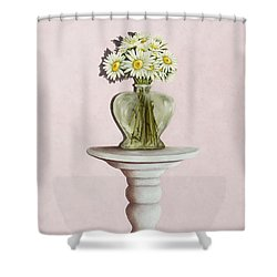 Simple Things Shower Curtain by Mary Ann King