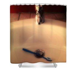 Sink Shower Curtain by Joana Kruse