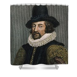 Sir Francis Bacon (1561-1626) Shower Curtain by Granger