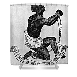 Slavery: Abolition, 1835 Shower Curtain by Granger