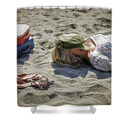 Sleeping Beauty Shower Curtain by Joana Kruse
