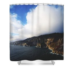 Slieve League, County Donegal, Ireland Shower Curtain by The Irish Image Collection