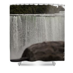 So Close And So Far Shower Curtain by Amanda Barcon