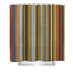 Soft Stripes Ll Shower Curtain by Michelle Calkins