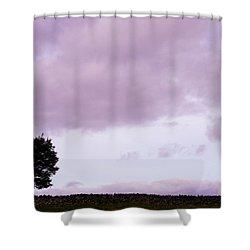 Solitude - Denbigh Moors Shower Curtain by Georgia Fowler