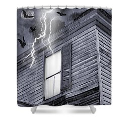 Something Wicked Shower Curtain by Brian Wallace