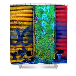 Spare A Spill Shower Curtain by Skip Hunt