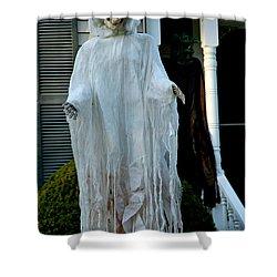 Spooky Flight Shower Curtain by LeeAnn McLaneGoetz McLaneGoetzStudioLLCcom
